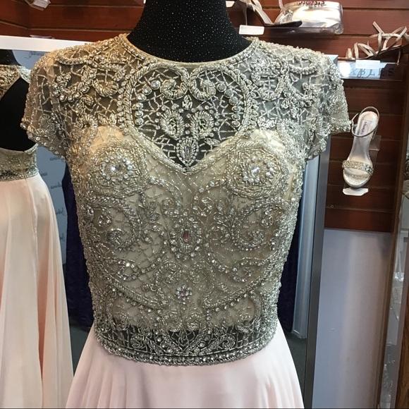 Jovani Dresses & Skirts - Jovani JVN47897 Soft Pink size 10